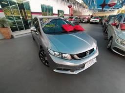 Honda Civic 2015 2.0 Flex One LXR Automatico + Bancos em Couro