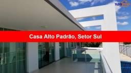 MARAVILHOSA CASA ALTO PADRÃO Q. 1 SETOR SUL!!! 6qtos, 4 suites, 2 semi-suites, banheira, C