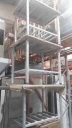 Mesas inox diverços tamanhos e modelos ALESSANDRO *