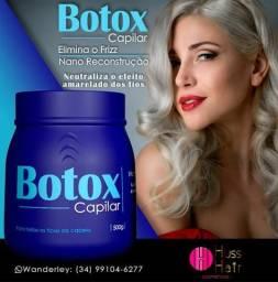 Título do anúncio: BOTOX CAPILAR 5 em 1 HUSS HAIR COSMÉTICOS.O único com 5 tipos de TRATAMENTO