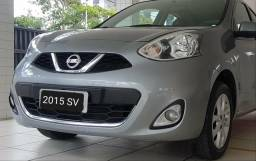 Nissan March SV completo Única Proprietária - 2015