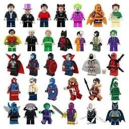 Bonecos super heróis para montar , todos na caixa / vários modelos