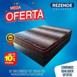 ::: Cama Box Colchao Ortobom Light ortopédico selado Casal 138x188 A Pronta Entrega