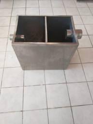 Caixa de gordura em aço inox