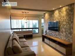 Apartamento com 3 dormitórios à venda, 92 m² por R$ 600.000,00 - Jardim Goiás - Goiânia/GO