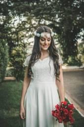 Vestidos para pré wedding/fotos casamento