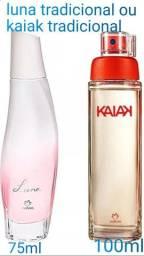 Perfume natura Luna ou kaiak feminino tradicional