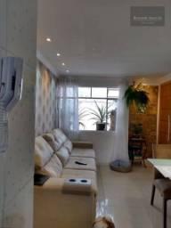 F-AP1207 Apartamento com 3 dormitórios à venda, 54 m² Fazendinha Curitiba/PR
