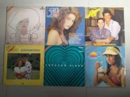 Discos de Vinil Novelas - Trilhas Internacionais