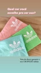 CROPEDD adidas e CROPEDD tricolor