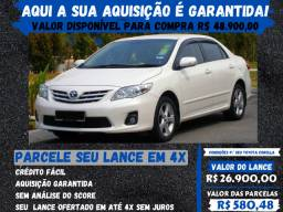 Toyota Corolla - 2014 - Aqui sua compra é garantida !