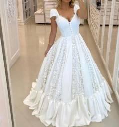 Vestido de noiva minimalista boho novissimo coleção 2021 barbara melo