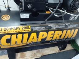 Compressor Chiaperini 20 Pés 200 Litros