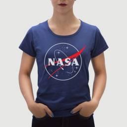 Camiseta NASA Feminina
