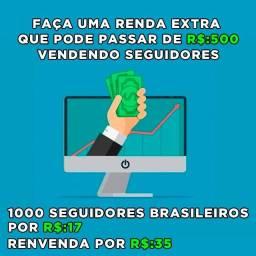 Título do anúncio: Curso Renda extra instagram Seguidores Brasileiros