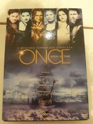 Título do anúncio: DVD Once upon a time - segunda temporada