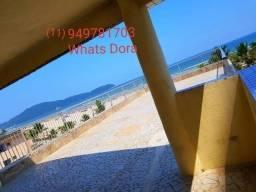 Kit frente ao mar Praia Grande Guilhermina com terraço