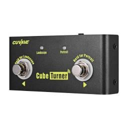 Pedal Cube Turner Wireless Avança Páginas Tablet iPad E Looper Pra Pedais De Guitarra