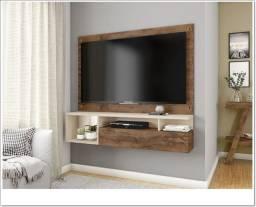 Rack suspenso para sala de estar - comporta TV até 55 polegadas | Produto NOVO