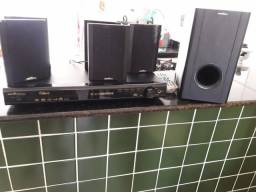 Home Theater semi novo