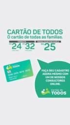 CARTÃO DE TODOS!