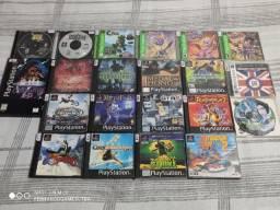 Jogos PlayStation 1 PS1 - Aceito Cartão