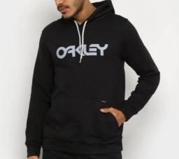Moletom Oakley Preto Novo Original