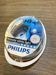 Lâmpada H3 Philips Diamond Vision 5000k