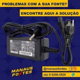 Carregador do Notebook Hp/Itautec Ponta Fina
