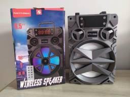 Caixa de som Bluetooth Potente Big Sound KTS-909B