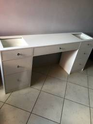 Mesa Escrivaninha Penteadeira 7 gavetas