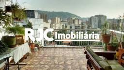 Título do anúncio: Cobertura à venda com 3 dormitórios em Grajaú, Rio de janeiro cod:MBCO30135
