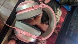 Headset Kraken Pro V2 Razer Rosa