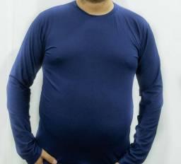 Camisa UV Plus Size Poliéster