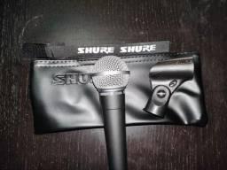 Título do anúncio: Microfone shure sm58-lc novo na caixa made in mexico