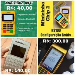 Minizinha nfc.. minizinha chip 2. Moderninha plus. Moderninha pro 2