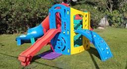 Playground Módulo com 2 escorregadores