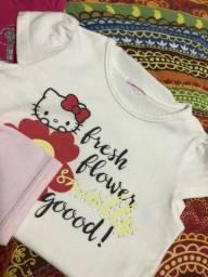 Título do anúncio: Roupinhas de bebê de 6 a 9