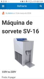Máquina para fabricação de sorvete de massa