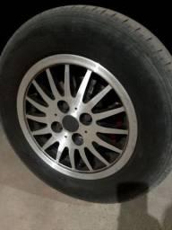Vendo rodas com pneus aro 13°