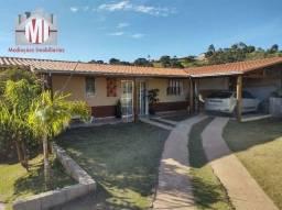 Ch0969 - Linda chácara com 02 casas, 3 dormitórios, à venda em Pinhalzinho/SP