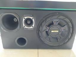 Troco por peças de PC Caixa de som automotivo