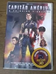 DVD ORIGINAL_CAPITÃO AMÉRICA - O PRIMEIRO VINGADOR / Em Gonzaga, Santos.