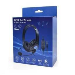 Headset Com Microfone Para Pc Consoles Ps4 Xbox One P3