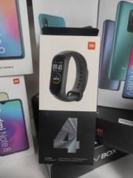 Folia! Mi Band 4 da Xiaomi.. Novo LACRADO Garantia entrega