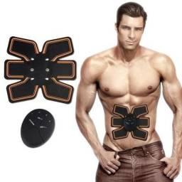 2 ultimas pecas Estimulador Muscular Ems Aparelho Abdominal Black em marica