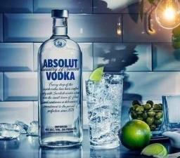Vodka Absolut 1 Litro Original Importada Da Suécia