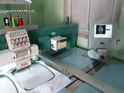 Máquina de bordar Makspecial 8 cabeças