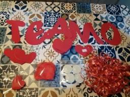 Kit decoração romântica