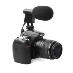 Microfone Direcional Canon/Nikon
